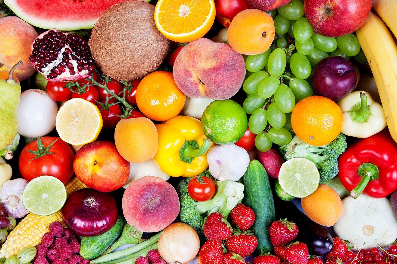 Fototapete Frisches Obst