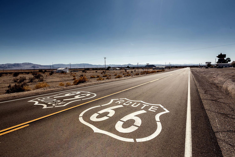 Fototapete Route 66